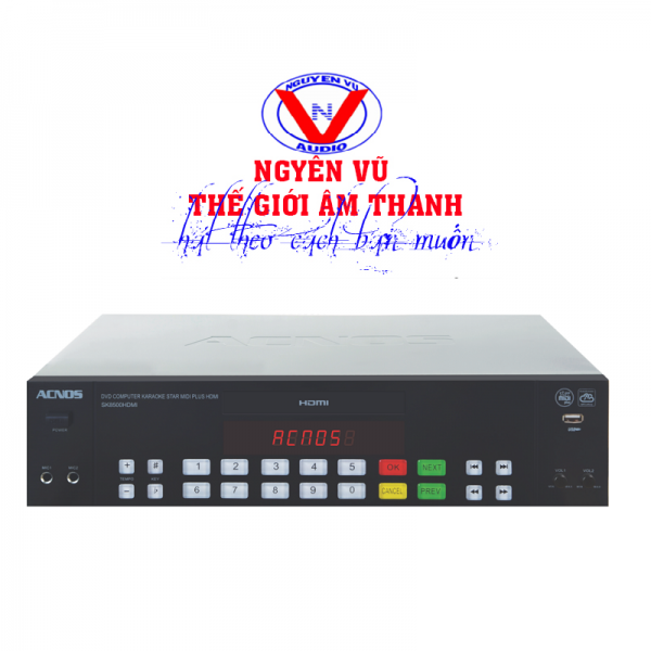 Đầu acnos sk 8500 HDMI