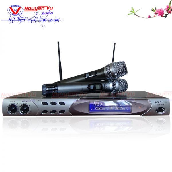 Micro không dây AAS HM 8000