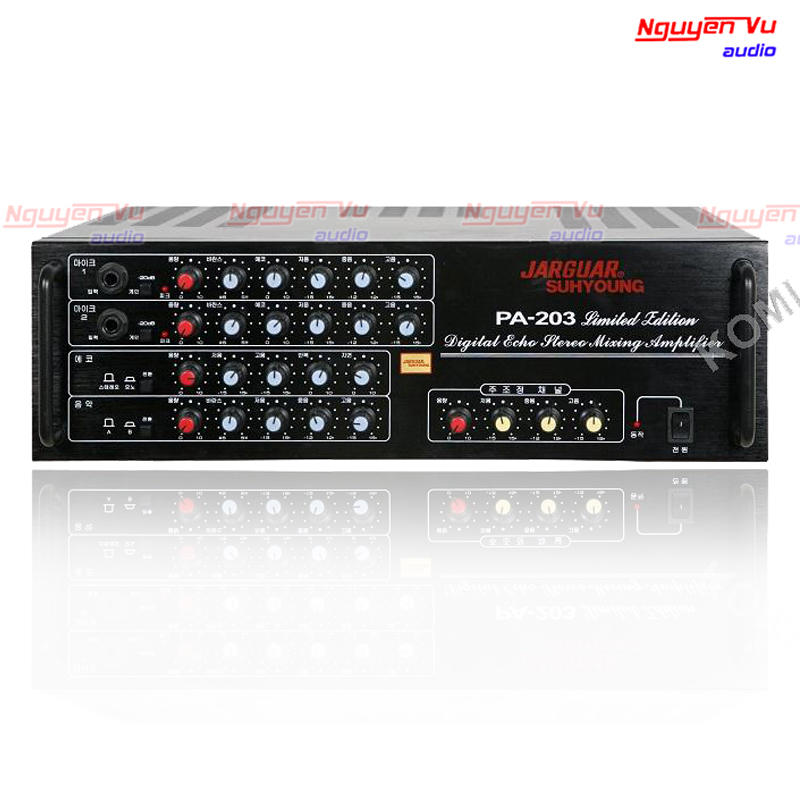 Amply jarguar pa 203n limited edition mới