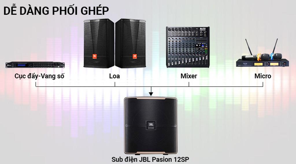 Loa Sub JBL Pasion 12SP